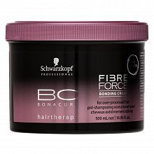 Schwarzkopf Professional BC Bonacure Fibre Force Bonding Cream Маска за много повредена коса 500 ml