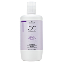 Schwarzkopf Professional BC Bonacure Keratin Smooth Perfect Treatment mască de netezire pentru păr indisciplinat 750 ml