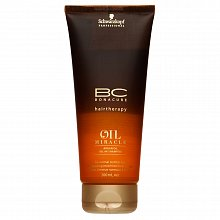 Schwarzkopf Professional BC Bonacure Oil Miracle Argan Oil Oil-in-Shampoo šampon pro normální až husté vlasy 200 ml