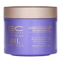 Schwarzkopf Professional BC Bonacure Oil Miracle Barbary Fig Oil & Keratin Restorative Mask mask for very dry and brittle hair 150 ml