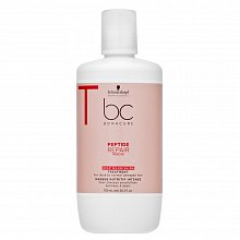 Schwarzkopf Professional BC Bonacure Peptide Repair Rescue Deep Nourishing Treatment maszk sérült hajra 750 ml