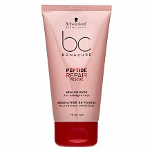 Schwarzkopf Professional BC Bonacure Peptide Repair Rescue Sealed Ends fluid for split hair ends 75 ml