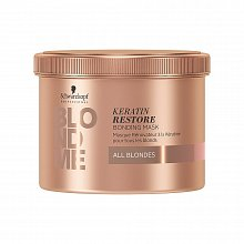 Schwarzkopf Professional BlondMe Keratin Restore Bonding Mask All Blondes pflegende Haarmaske für blondes Haar 500 ml