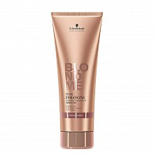 Schwarzkopf Professional BlondMe Tone Enhancing Bonding Shampoo Warm Blondes sampon fără sulfati pentru revigorarea nuantelor calde de blond 250 ml