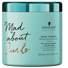 Schwarzkopf Professional Mad About Curls Butter Treatment pflegende Haarmaske für lockiges Haar 500 ml