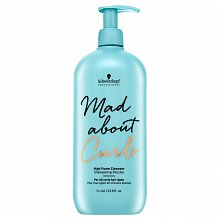 Schwarzkopf Professional Mad About Curls High Foam Cleanser szampon oczyszczący do włosów falowanych i kręconych 1000 ml