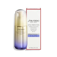 Shiseido Vital Perfection Uplifting & Firming Day Emulsion Emulsión antienvejecimiento de la piel 75 ml