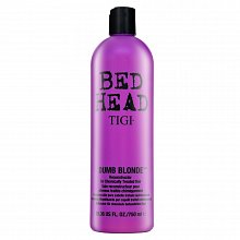Tigi Bed Head Dumb Blonde Reconstructor balsam pentru păr blond 750 ml