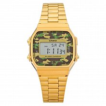 Unisex watch Casio A168WEGC-3