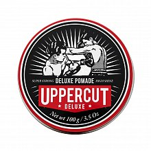 Uppercut Deluxe Pomade hair pomade for strong fixation 100 g