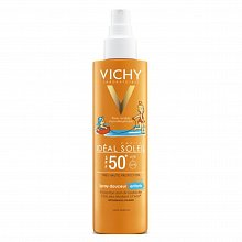 Vichy Idéal Soleil SPF50 Protection Anti-UV renforcée loțiune bronzantă spray pentru copii 200 ml