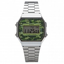 Unisex watch Casio A168WEC-3