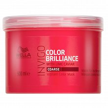 Wella Professionals Invigo Color Brilliance Vibrant Color Mask Маска за груба и боядисана коса 500 ml