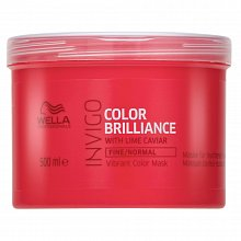 Wella Professionals Invigo Color Brilliance Vibrant Color Mask maszk vékony szálú festett hajra 500 ml