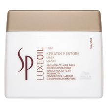 Wella Professionals SP Luxe Oil Keratin Restore Mask Mascarilla Para cabello dañado 400 ml
