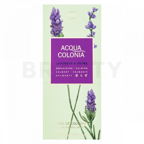 4711 Acqua Colonia Lavender & Thyme Eau de Cologne unisex 170 ml