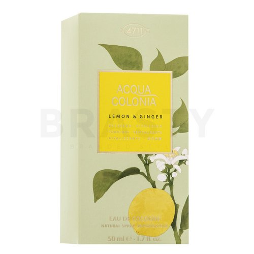 4711 Acqua Colonia Lemon & Ginger Eau de Cologne unisex 50 ml
