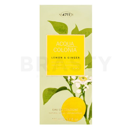 4711 Acqua Colonia Lemon & Ginger Eau de Cologne uniszex 170 ml