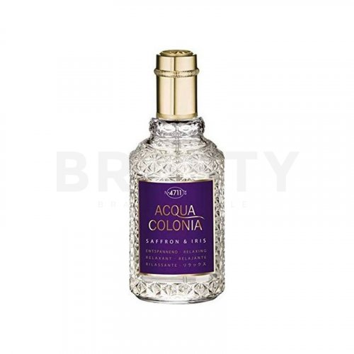 4711 Acqua Colonia Saffron & Iris Eau de Cologne unisex 170 ml