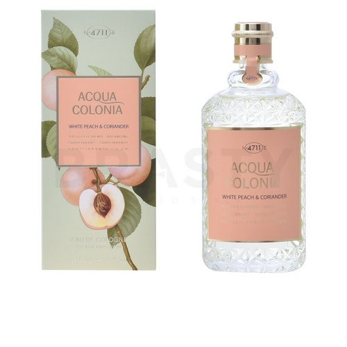 4711 Acqua Colonia White Peach & Coriander Eau de Cologne uniszex 170 ml