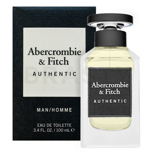 Abercrombie & Fitch Authentic Man Eau de Toilette da uomo 100 ml