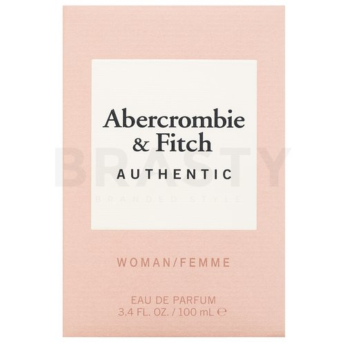 Abercrombie & Fitch Authentic Woman Eau de Parfum nőknek 100 ml