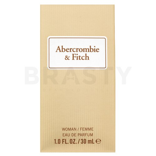 Abercrombie & Fitch First Instinct Sheer Eau de Parfum para mujer 30 ml