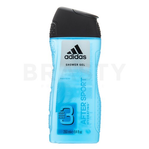 Adidas 3 After Sport Shower gel for men 250 ml