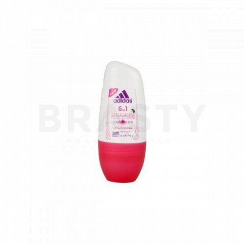 Adidas Cool & Care 6 in 1 dezodorant roll-on dla kobiet 50 ml