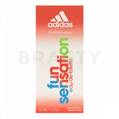 Adidas Fun Sensation Eau de Toilette da donna 30 ml
