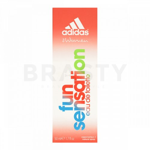 Adidas Fun Sensation Eau de Toilette femei 50 ml