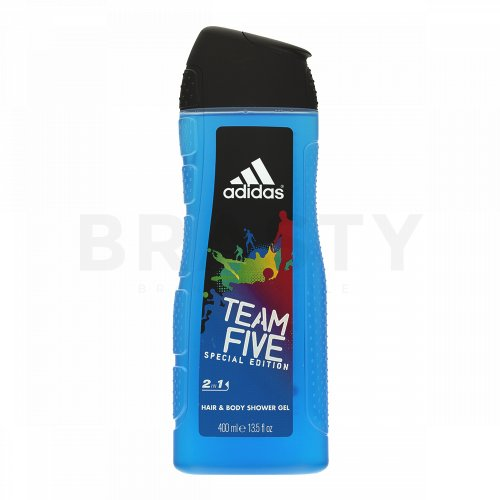 Adidas Team Five Gel de duș bărbați 400 ml