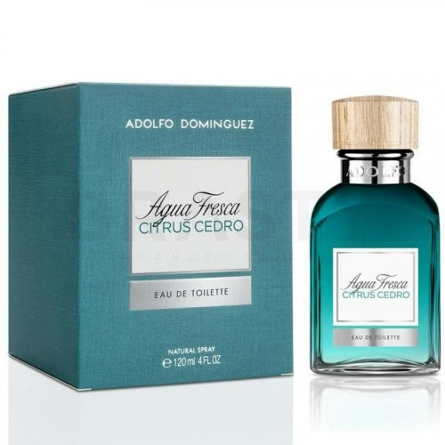 Adolfo Dominguez Agua Fresca Citrus Cedro Eau de Toilette for men 120 ml