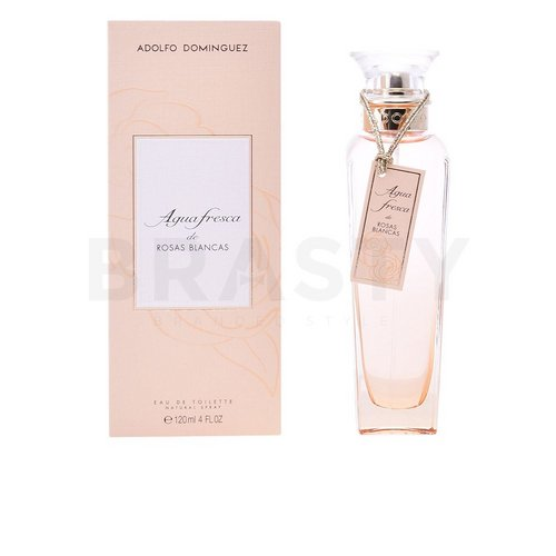 Adolfo Dominguez Agua Fresca de Rosas Blancas Eau de Toilette for women 120 ml
