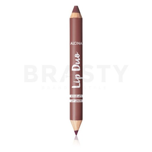Alcina Lip Duo Berry Nude konturówka do ust 2in1