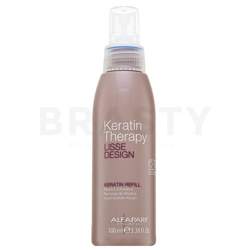 Alfaparf Milano Lisse Design Keratin Therapy Keratin Refill Leave-in hair treatment for unruly hair 100 ml