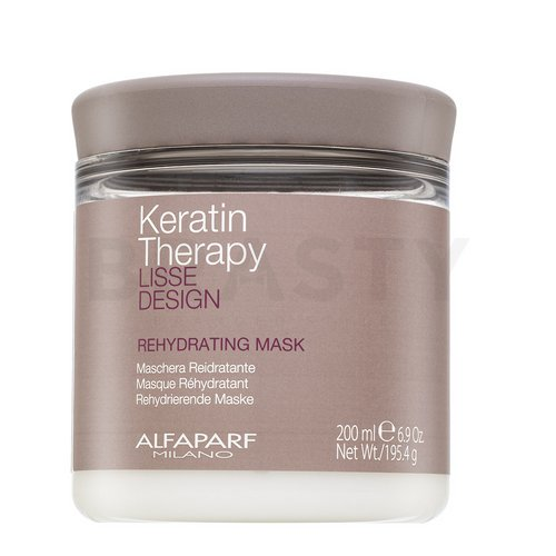 Alfaparf Milano Lisse Design Keratin Therapy Rehydrating Mask подхранваща маска За суха коса 200 ml