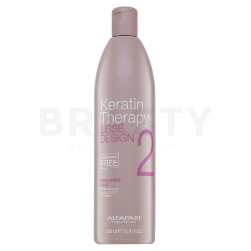 Alfaparf Milano Lisse Design Keratin Therapy Smoothing Fluid smoothening balm for dry and damaged hair 500 ml