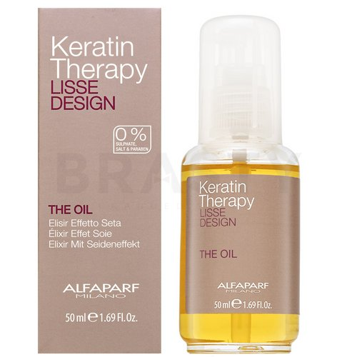 Alfaparf Milano Lisse Design Keratin Therapy The Oil олио За всякакъв тип коса 50 ml