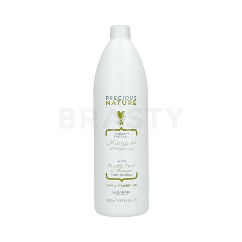 Alfaparf Milano Precious Nature Today's Special Shampoo Prickly Pear & Orange glättendes Shampoo für widerspenstiges Haar 1000 ml