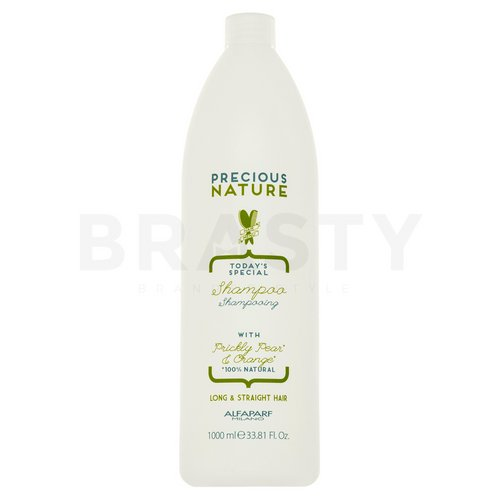 Alfaparf Milano Precious Nature Today's Special Shampoo Prickly Pear & Orange hajsimító sampon rakoncátlan hajra 1000 ml