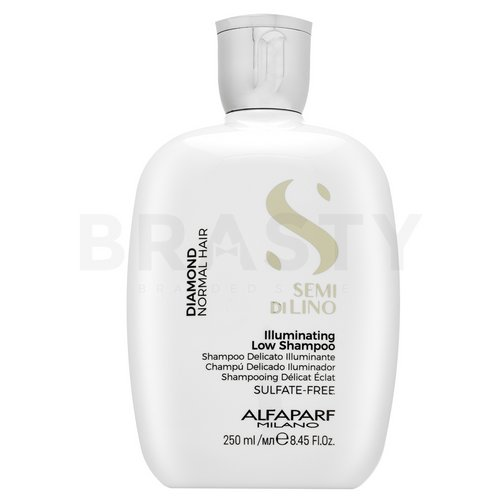 Alfaparf Milano Semi Di Lino Diamond Illuminating Low Shampoo champú aclarante Para cabello normal 250 ml