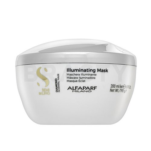 Alfaparf Milano Semi Di Lino Diamond Illuminating Mask odżywcza maska do włosów bez połysku 200 ml