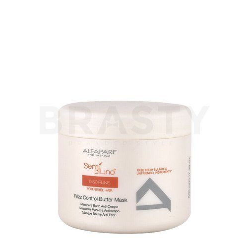 Alfaparf Milano Semi Di Lino Discipline Frizz Control Butter Mask nourishing hair mask for unruly and damaged hair 500 ml