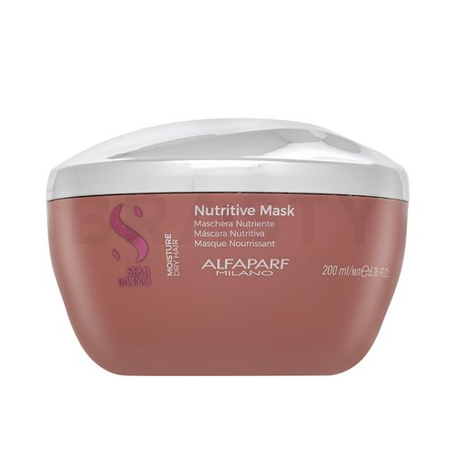 Alfaparf Milano Semi Di Lino Moisture Nutritive Mask nourishing hair mask for dry and damaged hair 200 ml
