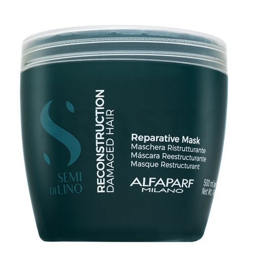 Alfaparf Milano Semi Di Lino Reconstruction Reparative Mask nourishing hair mask for damaged hair 500 ml