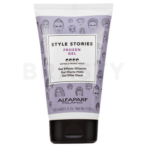 Alfaparf Milano Style Stories Frozen Gel hair gel for strong fixation 150 ml