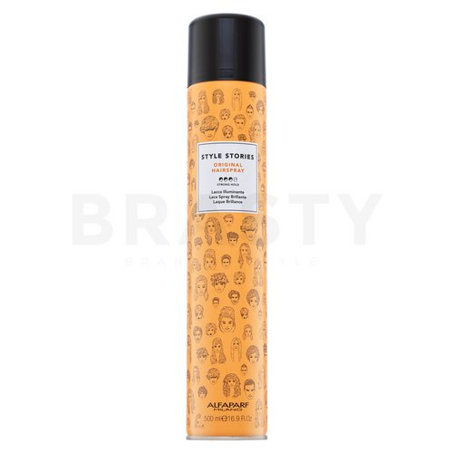 Alfaparf Milano Style Stories Original Hairspray Spray fijador fuerte 500 ml