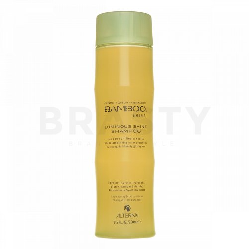 Alterna Bamboo Shine Luminous Shine Shampoo shampoo per la lucentezza dei capelli 250 ml