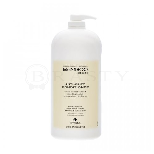 Alterna Bamboo Smooth Anti-Frizz Conditioner Conditioner gegen gekräuseltes Haar 2000 ml